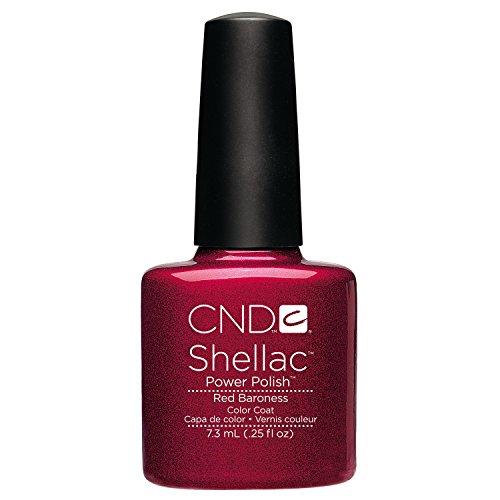 CND Shellac CNDS0063 Red Baroness Smalto per Unghie