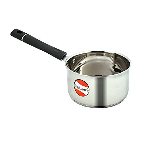 Tuffware Stainless Steel Saucepan - Indian - Induction Friendly (1 LTR)
