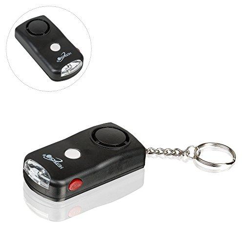 Safe2Home® hochwertiger Sicherheits Personen Alarm mit LED Licht und Schlüsselanhänger - Panikalarm per Knopfdruck