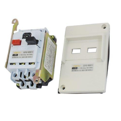 DealMux 3 Pole Kunststoff Panel Protection Schalter Leistungsschalter, AC 660V 25 Amp - Pole Leistungsschalter