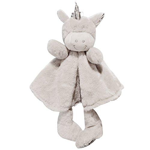 Missley Schön Einhorn Ausgestopft Spielzeug Kleinkinder Sicherheit Tier Beißring Stoff Kleinkind Weich Karikatur Tröster Beste Weihnachten Geschenk Zum Baby (Fantasy-tröster)