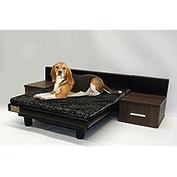 Cama para mascotas - perros y gatos Maxi Marrón