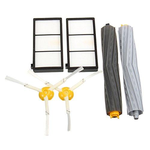 rste und Filter-Set für iRobot Roomba 800 Serie 870 880, 6-teilig ()