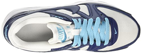 Nike Jungen Air Max Command Flex Gs Niedrige Sneaker Elfenbein (White/binary Blue/vivid Sky/black)