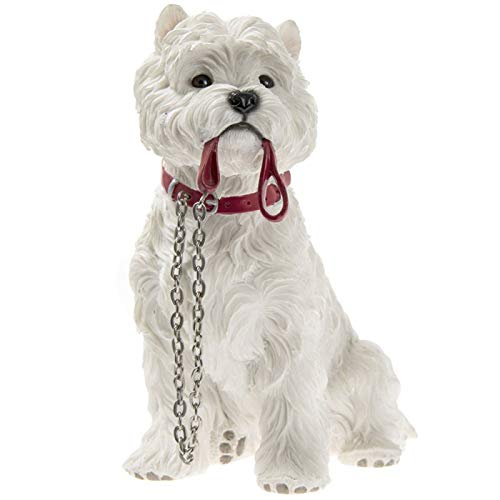 Practical cases made of dog - West Highland figure with strap sitting Terrier figure