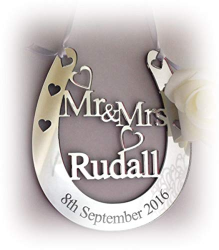 Personalised Wedding Mr & Mrs Good Luck Bridal Lucky for sale  Delivered anywhere in Ireland