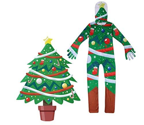Weihnachten Kinder Performance Kostüm Junge Siamese Cosplay 3D Cartoon Weihnachtsbaum Party Style Kostüm