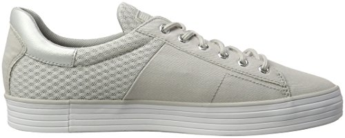 Esprit Damen Sita Lace Up Sneakers Grau (040 Grigio Chiaro)