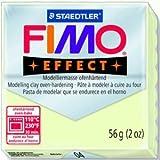 Staedtler 10 x Modelliermasse Fimo soft 56g nachtleuchtend