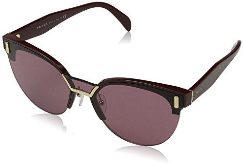 Prada Damen 0PR04US TY7098 43 Sonnenbrille, Rot (Bordeaux/Violet),