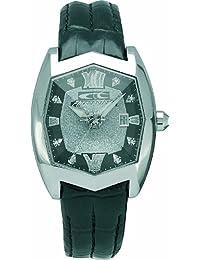 Chronotech DELUXE PRESIDENTIAL CT.7964L/02 - Reloj de mujer de cuarzo, correa de piel color negro