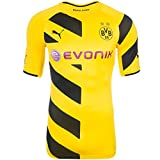Puma BVB Home Shirt Promo ACTV Active Trikot Herren 745815 01 Borussia Dortmund , Bekleidungsgröße:S
