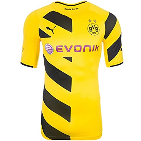 Puma BVB Home Shirt Promo ACTV Active Trikot Herren 745815 01 Borussia Dortmund ,