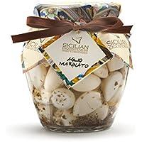 Handmade Sicilian Marinated Garlic in Olive Oil - 270g Jar