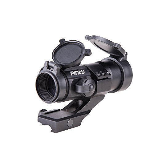 Pinty 4 MOA Red Green Dot Tactical Reflex Sight Reflexvisier Scope Holografische Rot und Grün Sight für Shotgun Gewehr mit Rail Mount/Reflex Stinger