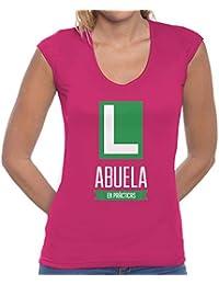 latostadora - Camiseta Abuela en Prácticas para Mujer