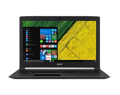 Acer Aspire E15 E5-576 15.6-inch Laptop (7th Gen Intel Core i3-7020U/4GB/1TB/Linux/Integrated Graphics), Obsidian Black