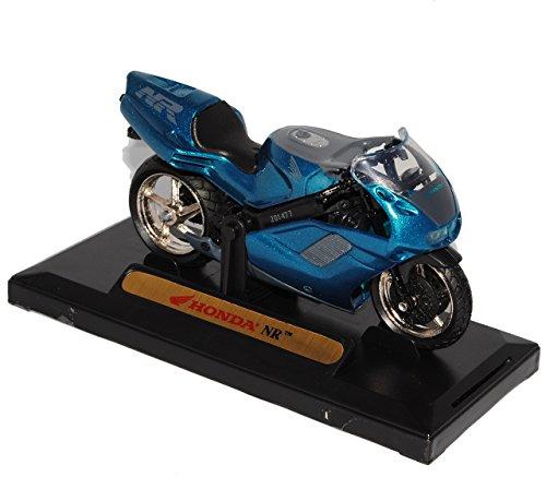 Honda Nr Blau Metallic 1/18 Mondo Motors Modellmotorrad Modell Motorrad