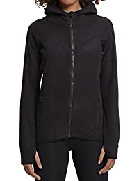 Urban Classics Damen Kapuzenpullover Ladies Polar Fleece Zip Hoody
