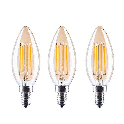 C35Ersetzt Dimmbar Bernstein Led V Filament Tungsten Lampe 4 Kerze C35 W Lumen 40 Glühbirne2700 Glas K Schraube 220 400 Aselight E14 5j4RLA