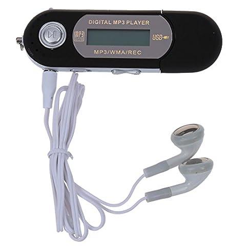SODIAL(R) 8G Cle USB Lecteur Baladeur MP3 Player FM noir