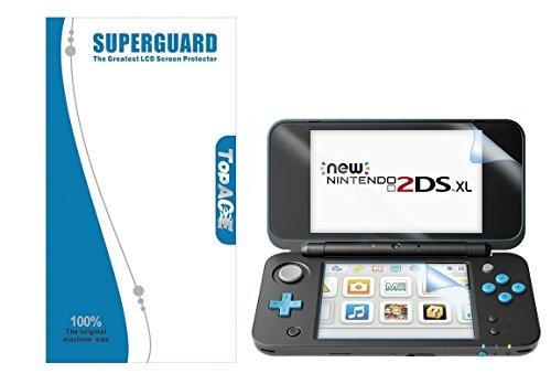 TopACE® Gehärtetem Glas Explosionsgeschützte Display Schutz Folie für Nintendo 2DS XL