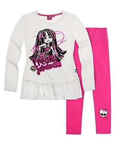 Monster High Tunica mit Leggings - pink - 140
