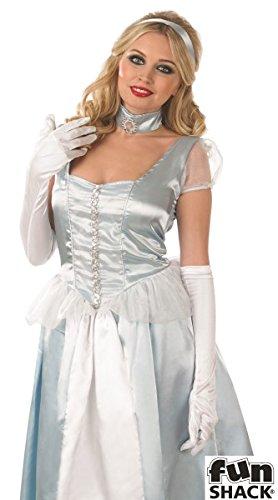 Kostüm Fun Adult - Fun Shack Märchen-Prinzessin - Adult Kostüm - Klein - 36-38