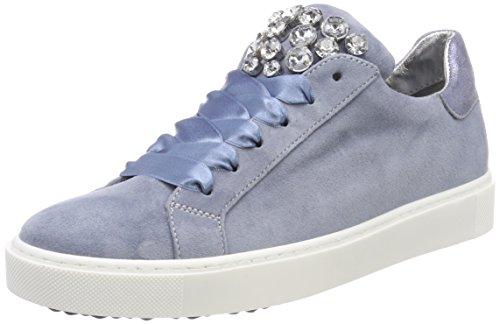 Maripe Damen 26618 Sneaker, Türkis (Camoscio Cielo), 38 EU
