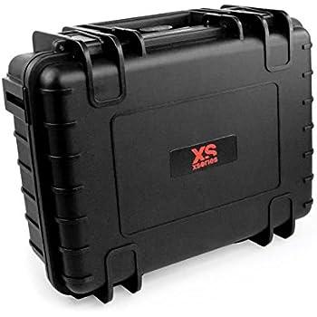 Xsories Big Black Box - DIY - Mallette étanche IP67 et antichoc protection transport-pour votre matériel photo DSLR  - Noir Taille XL