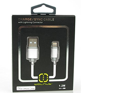 ertifiziertes Lightning Sync/Ladekabel 1,2 Meter - 4 Füße für iPhone 6, 5, 5S, 5 C, Pod Touch 5. Generation, iPod nano 7. Generation, iPad 4. Generation, iPad Air, iPad Mini von TB1 Products ()