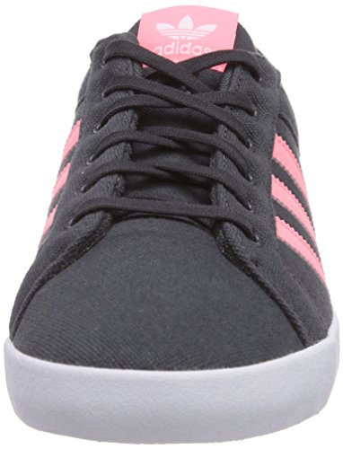 adidas Adria Ps 3S, Low-Top Sneaker donna Grigio (Grau (Dgh Solid Grey/Light Flash Red S15/Ftwr White))