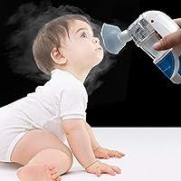 Preisvergleich für GSAKNC Vernebler-Inhalator, Mini-Hand-Dampfinhalator, Vernebler Für Erwachsene, Atomisierte Partikel Und Ultraschalltechnologie