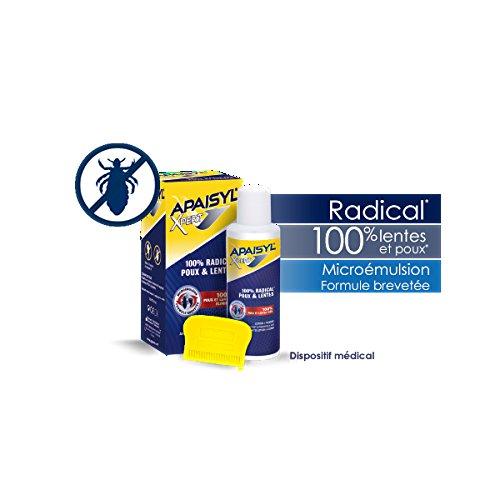 apaisyl xpert 100 radical lentes et poux 250 ml - Coloration Et Poux