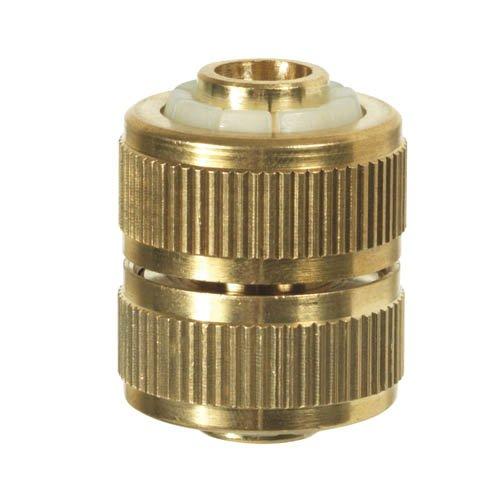 Ribiland - Pra/rlb.4220 Raccord réparateur, Laiton, 15 mm, Or, 35 x 30 x 30 cm