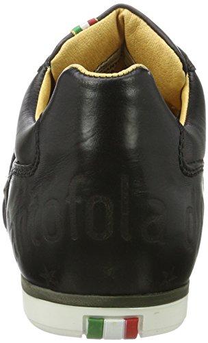 Pantofola dOro Imola Romagna Uomo Low, Baskets Homme Schwarz (Black)