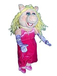 Peluche Muppet Show - Peggy la Cochonne - LANSAY 2006 - H 35 cm