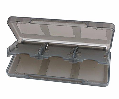 iEFiEL Estuche para Tarjetas de Juego Nintendo 3DS o Tarjeta de Memoria SD Caja Portátil de Almacenamiento Negro talla