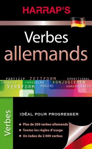 Harrap's Verbes allemands
