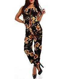 Young-Fashion - Combinaison - Relaxed - À Fleurs - Femme