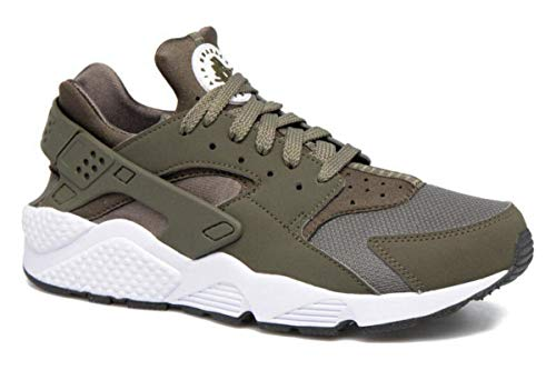 Nike 318429 306 Air Huarache Sneaker Khaki|46 (Herren Grün Schuhe Nike)