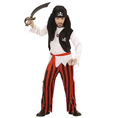 Königs Kind Krieger Kostüm - Widmann 07238 Kinderkostüm Pirat, 158 cm