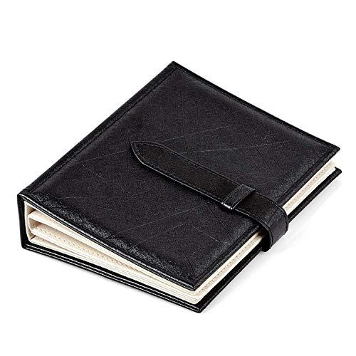 Twolights organizer orecchini porta espositore orecchini e collane libro in pu 42 paia