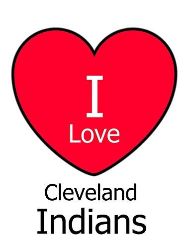 I Love Cleveland Indians: White Notebook/Journal for Writing 100 Pages, Cleveland Indians Baseball Gift for Men, Women, Boys & Girls por Kensington Press