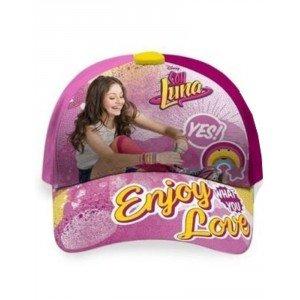 KIDS LICENSING – Gorra Soy Luna Enjoy Love – 8435333858530