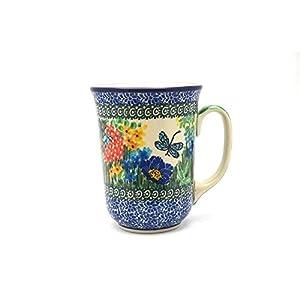 Polish Pottery Mug – 16 oz. Bistro – Unikat Signature U4612