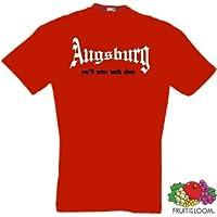 world-of-shirt Herren T-Shirt Augsburg You`ll never walk alone