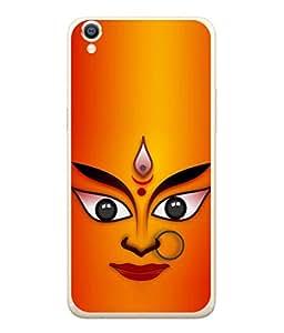 PrintVisa Designer Back Case Cover for Oppo A37 (Mariamman Tamil Folk Goddess Originated PreVedic)