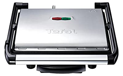 Tefal GC241D40 Inicio Grill, (6 Portions), 2000 W, Stainless Steel from Groupe SEB