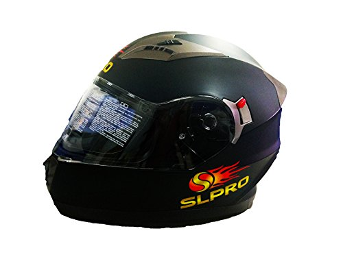 Motorradhelm mit Doppelvisier inkl Transportbeutel (XS)